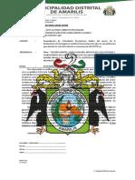 NOTIFICACION N° 009-2020-CONTRATISTA EJECUTOR VILCABAMBA