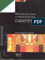 011. Daniel Guz_ Nueva guía para la investigación científica - Heinz Dieterich Steffan 2008