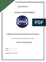 DIGITAL SYSTEM DESIGN Manual1