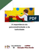 (com atividades) A importância da psicomotricidade e da ludicidade