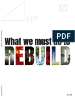 Konzept # 19 What We Must Do to Rebuild