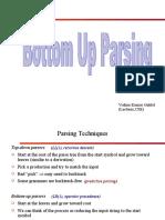 botttom up parsing