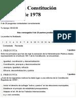 C2 JA - La Constitución Española de 1978 - TEST