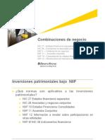 NIIF 3 Combinacion de negocios