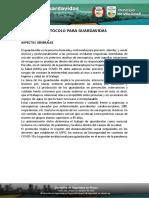 Protocolo Para Guardavidas - Villa Gesell 2020 2021