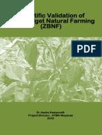 Research Report - Zero Budget Natural Farming ( Draft)