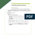 Tema  Word - Actividad clase1