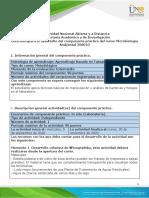 Guia para el desarrollo del componente práctico tarea 4-Laboratorio de Microbiología Ambiental