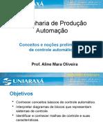 Slides controle automático