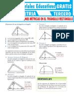 Ejercicios-de-Relaciones-Métricas-en-el-Triángulo-Rectángulo-Para-Tercer-Grado-de-Secundaria