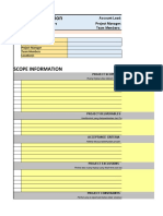 Project Management Form