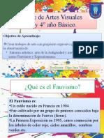 Clase de Artes Visuales