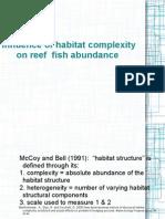 ms255 report habitat complexity