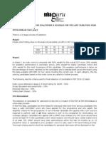 SelectionCriteria(IIMs)