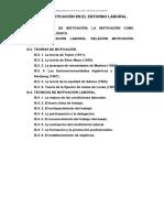 TEMARIO RET - TEMA III - LA MOTIVACIÓN EN EL ENTORNO LABORAL