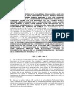 PROYECTO DE DICTAMEN PARA CERTIFICACIONES Y RATIFICACION DE SOCIEDADES