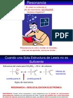 1Resonancia y formalismo de flechas curvas