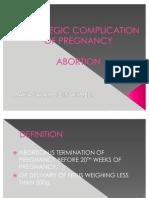 HEMOREGIC COMPLICATION OF PREGNANCY