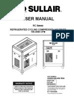 Manual secador Refrigerativo RC