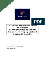 Actuarcovid La Covid 19 en Las Residencias de Mayores Situacion Actual y Propuestas de Prevencion y Control 1