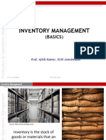 Inventory Management 1 Basics