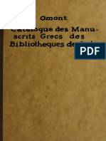 Omont H - Catalogue des manuscrits grecs des bibliothèques de Suissse.pdf