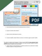 II.3.2 Formation des molécules