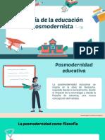 Durazno y Azul Ilustración Clase de Inglés Educación Presentación (2)