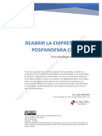 REABRIR LA EMPRESA EN LA POSPANDEMIA COVID-19