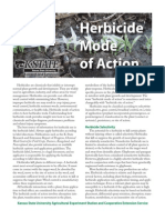 Herbicide Mode of Action
