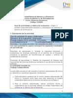 Guia de actividades Etapa 3 Analizar comportamiento transitorio y estacionario de sistemas en dominio de la frecuencia