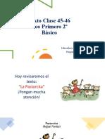 Texto clase 45-46 La Pastorcita