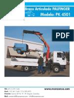 Brazo Articulado Palfinger PK4051
