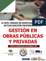 GESTION EN OBRAS PUBLICAS Y PRIVADAS