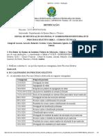 EDITAL - CRONOGRAMA - retificação - multicampi 2