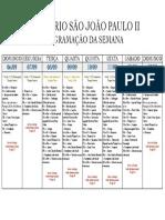 SEMINÁRIO - Programação da Semana 2020.2