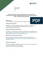 Ejemplo entrega normas APA y bases de datos