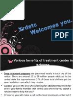 Various Benefits of Treatment Center in Kelowna