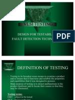 VLSI TESTING