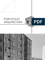 Portafolio Arquitectura primer ciclo universitario