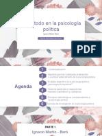 metodo psicología política