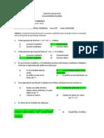 EXAMEN EN PDF ÁLGEBRA FUNCION Y ECUACION CUADRATICA 908