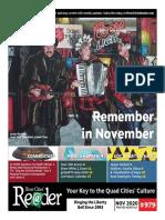 River Cities Reader #979 - November 2020