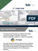 Telit_Easy_Script_9_M2M_Platforms_seminar_2007