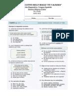 Prueba Diagnostica Lengua Española (1)