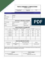 19.- RE-OP-MTTO-014 REGISTRO DE CALIBRACION MAQUINAS DE SOLDAR Ver.1