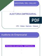 FASES DEL PROCESO  DE AUDITORIA EMPRESARIAÑ