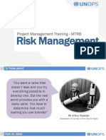 MTRB - Day 3.1 - Risk Management