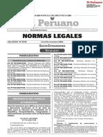 Decreto Supremo que ratifica la convocatoria a Elecciones Generales el 11 de abril de 2021