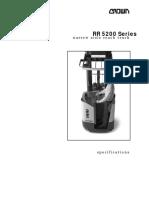Crown-RR5220-45 Especificaciones